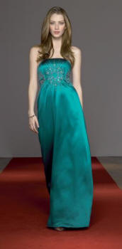 Bridgit dress in teal at �160 - Monsoon's Autumn/Winter 2006 Range